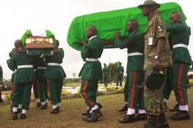 Killed Nigerian soldiers